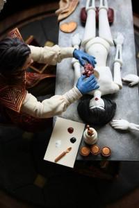 dollmaker closeup